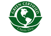 Chemdry Amazing are Green Certified